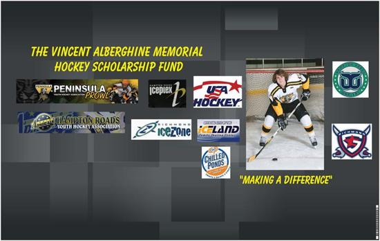The Vincent Aberghine Memorial Hockey Scholarship Fund