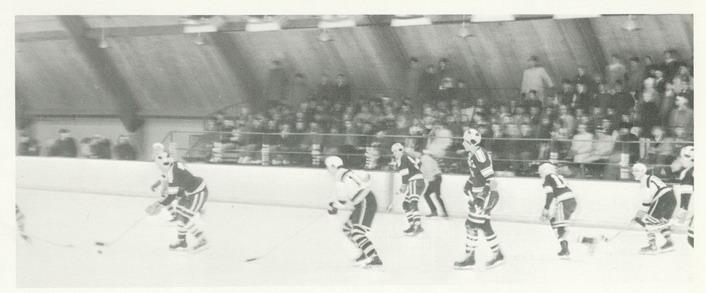 1967 Blake Ice Arena - Bears game action
