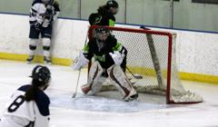 Brooke teubert in goal small