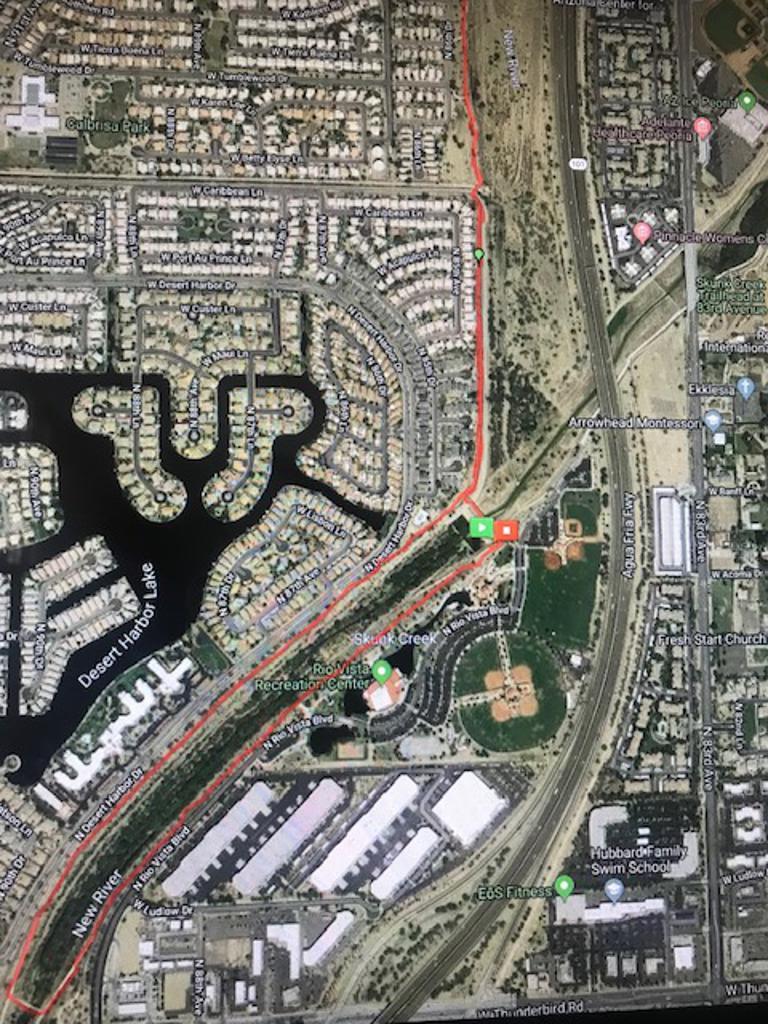 Rio Vista Course Map