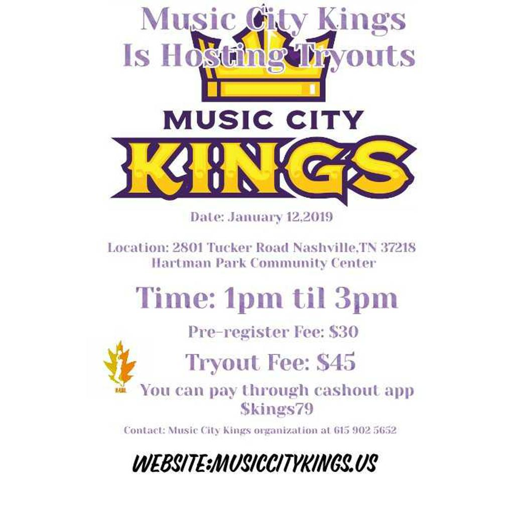 Music City Kings Minor League Basketball