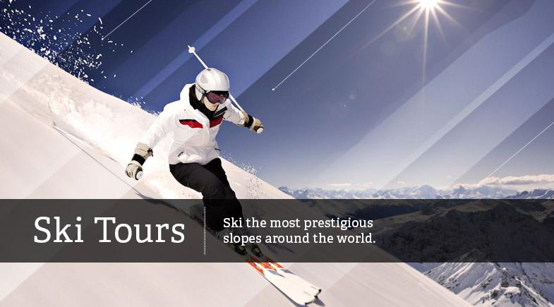 ski tours ski the most prestigious slopes around the world