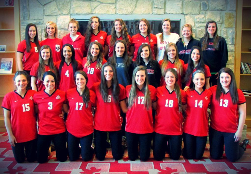 THE 2014 Ohio State Women's Club Lacrosse Team Photo