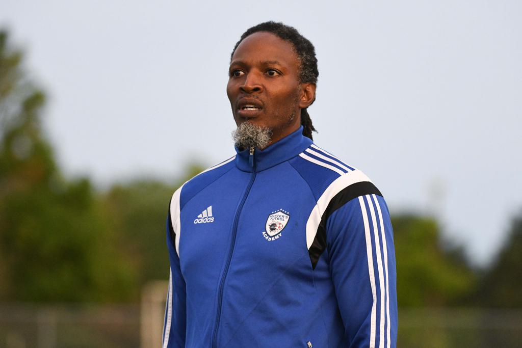 Master's FA coach Rick Titus. (Martin Bazyl/League1 Ontario)