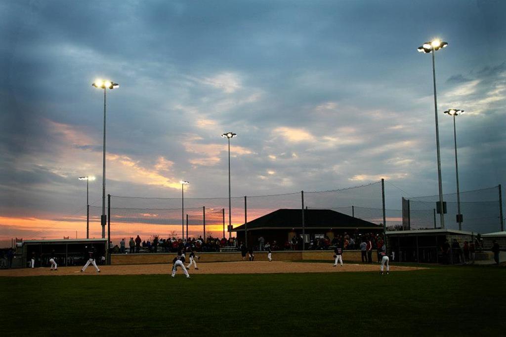 JYBSA Fields at Twilight