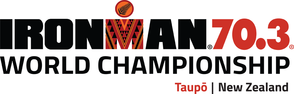 2022 IRONMAN 70.3 World Championship Taupo New Zealand race logo