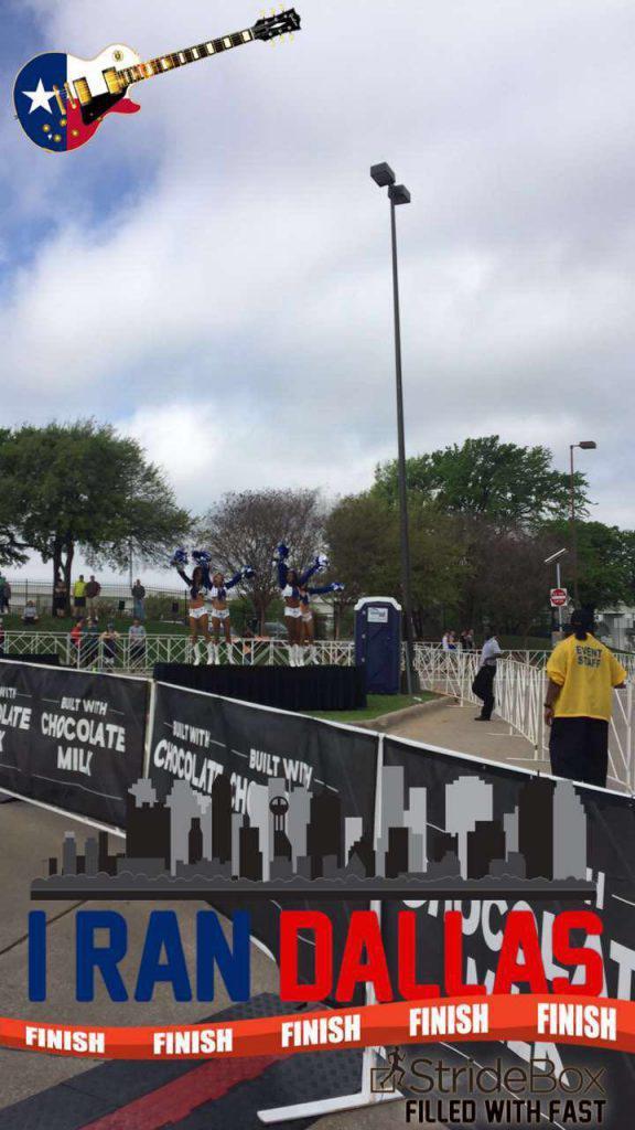 I Ran Dallas marathon pics