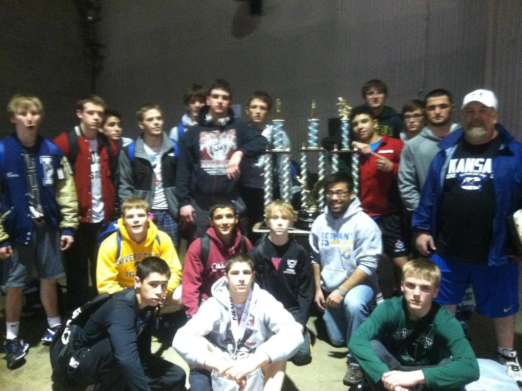 The team to beat at the RMN Duals - Team Kansas