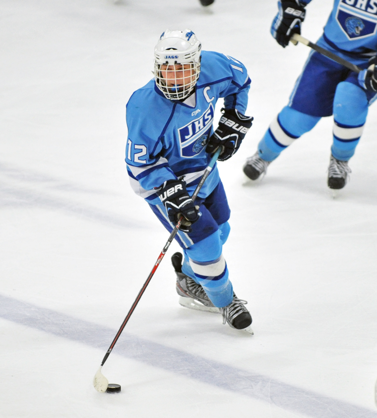 Johnny Panvica (12) of Bloomington Jefferson. Photo by Katherine Matthews