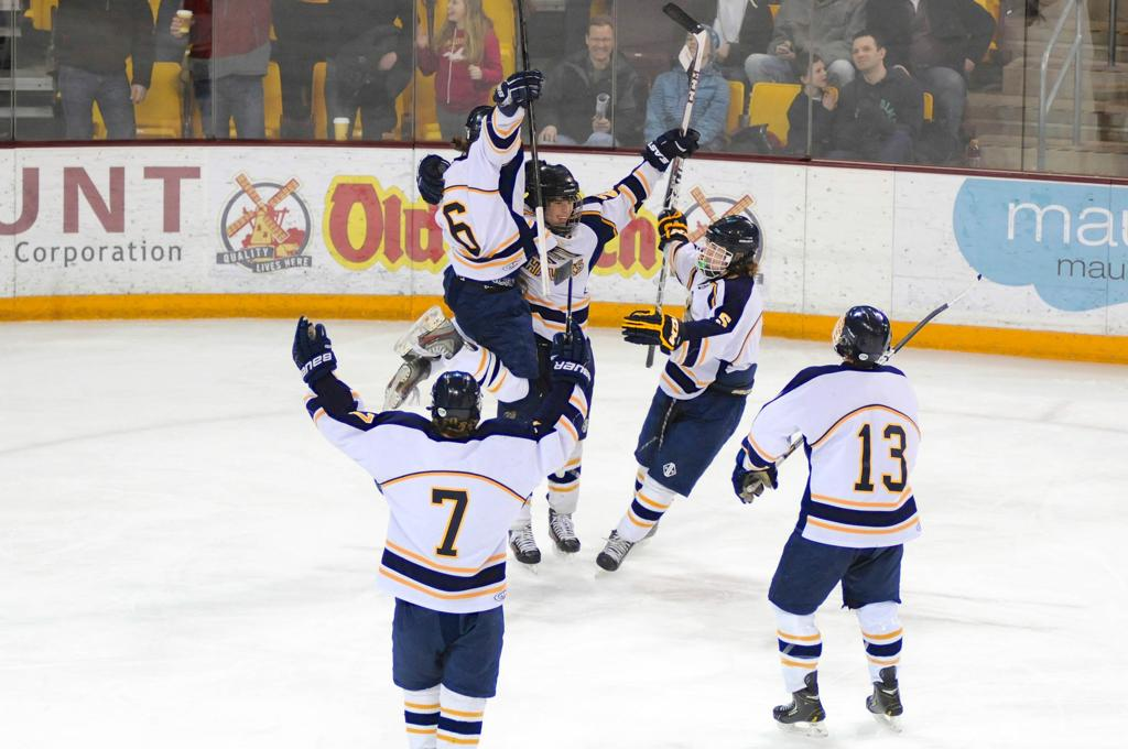 Hermantown punches their 5th streak ticket to the state tournament.