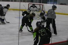 Alyssa knauf faceoff anna malone defense small