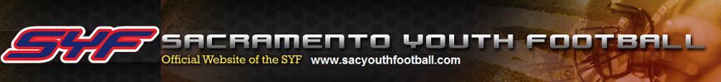 Sacramento Youth Football (SYF) league