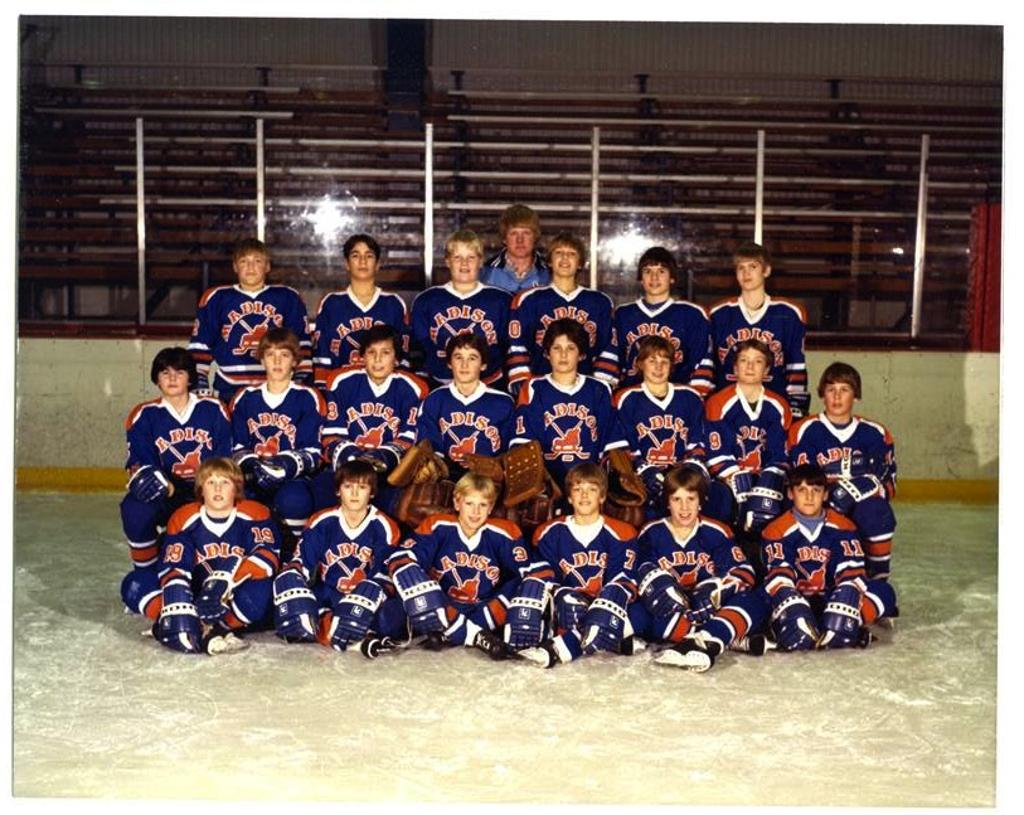One of the first Capitols teams in the early 80's