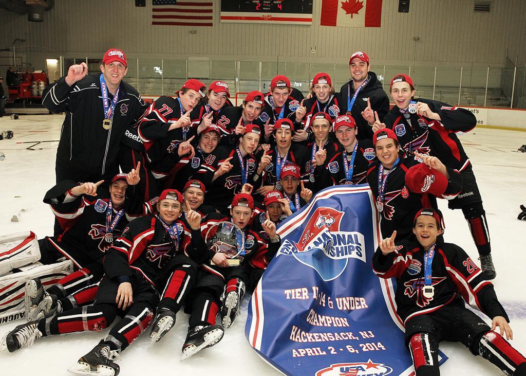 Family portaits midget aaa hockey championships