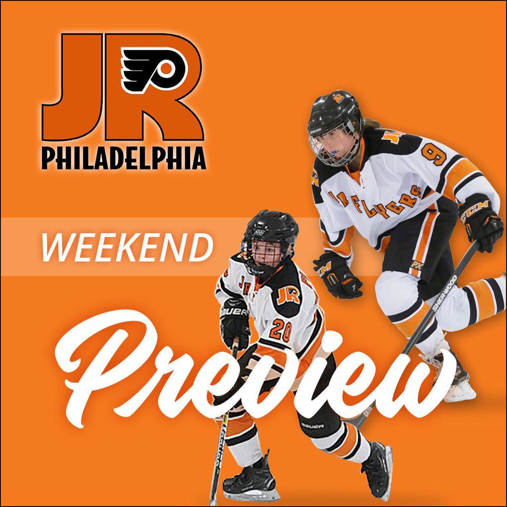 Jr. Flyers Weekend Preview – October 12 - 14, 2019