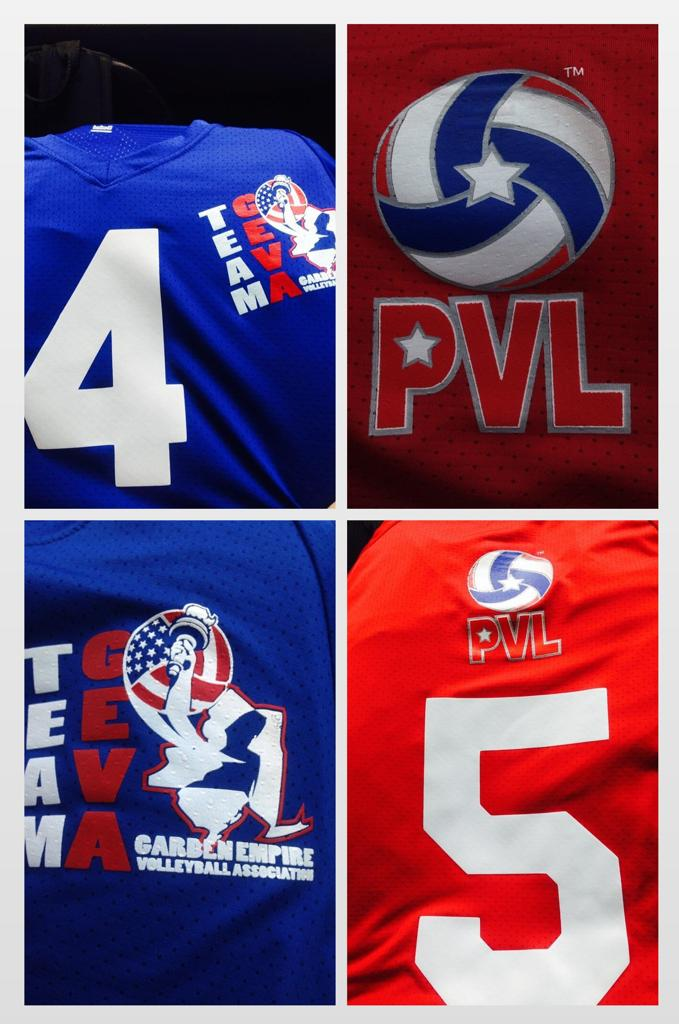 Team GEVA's Jerseys