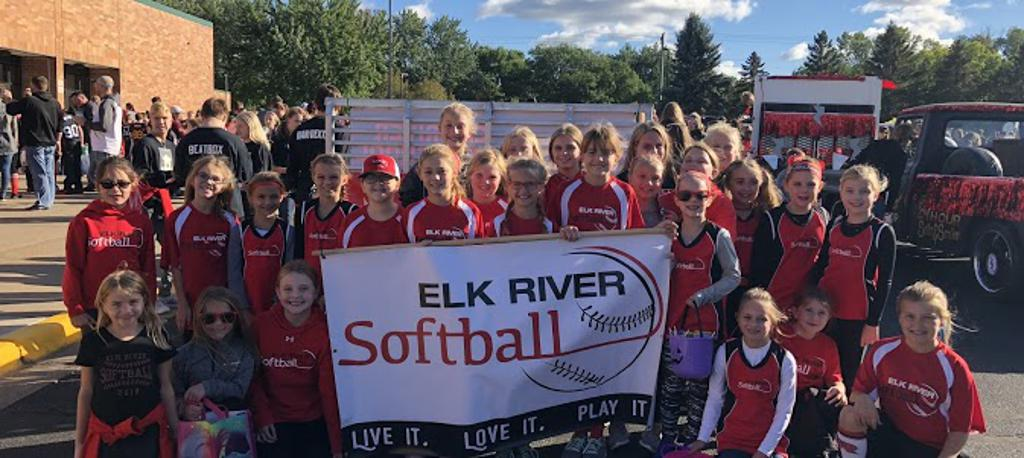 elk river youth softball association