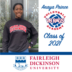 Anaya Prince - Team VB RAGS Class of 2021