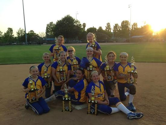 12U SIlver - Rancho Rebels take the Rancho Round Up!