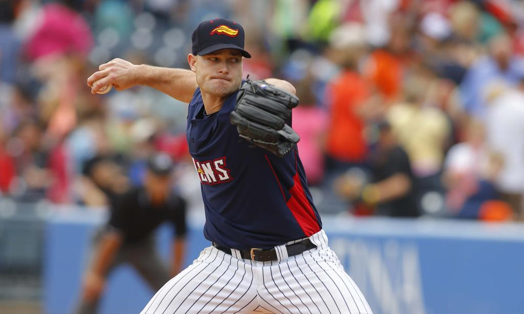 Mud Hens closer Kevin Whelan