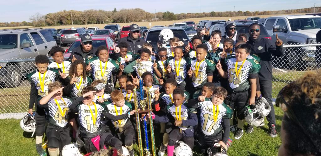 Big Lake, King of the Gridiron Champions for 5Th Grade