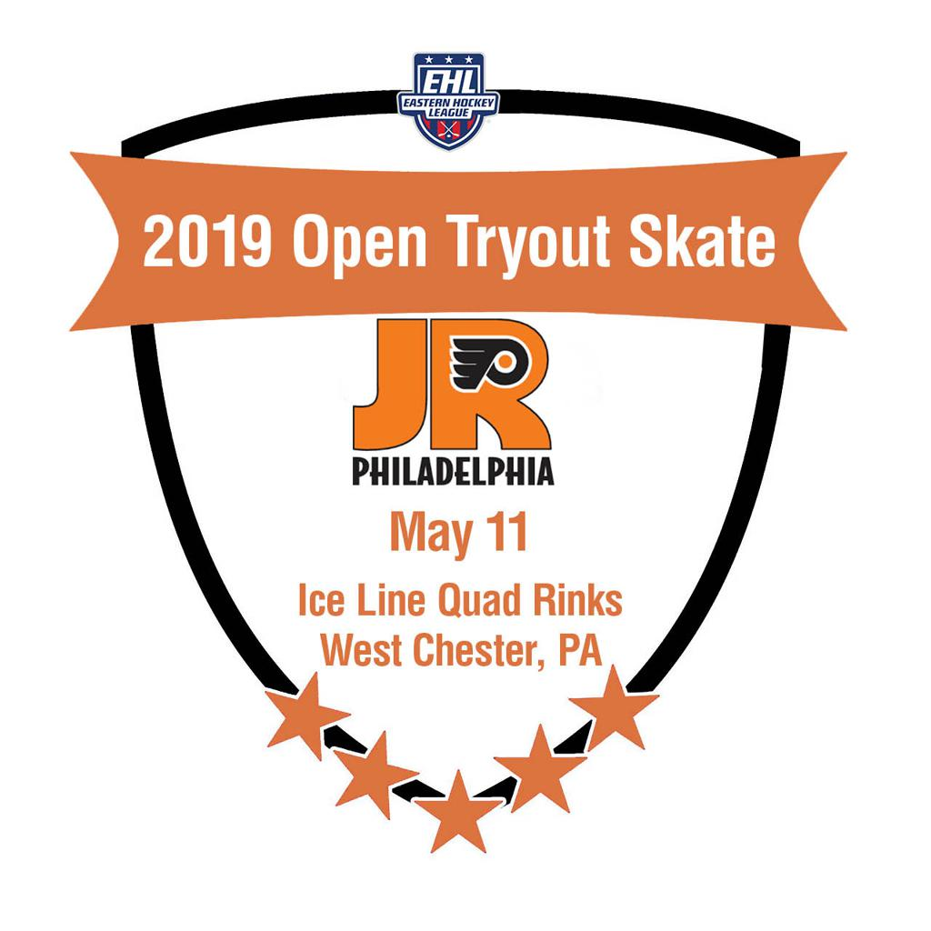 Jr. Flyers EHL Junior team to have open tryout skate on May 11