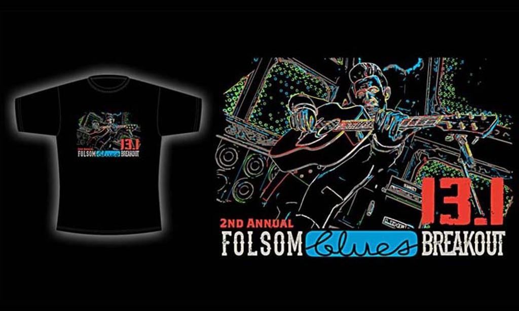 Folsom Blues Breakout 2014 shirt art