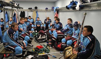 Locker room World Selects Invite Boys team