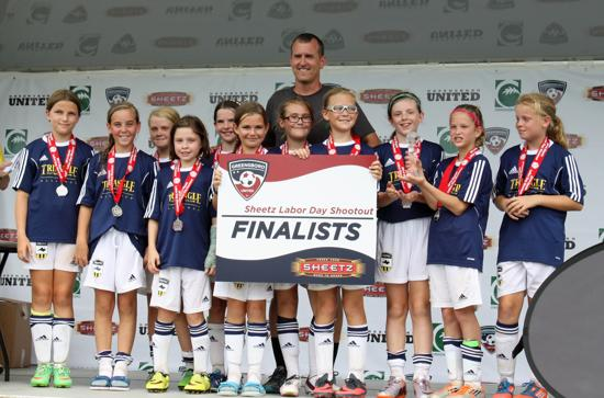 GUSA Labor Day Shootout - U11 Silver Finalists