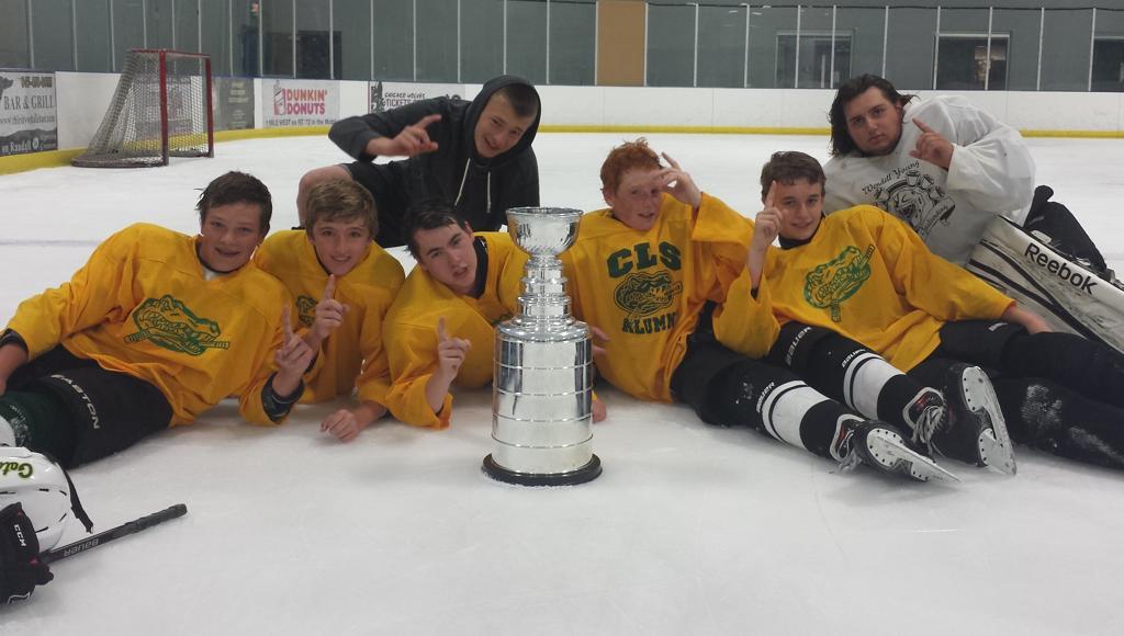 Gator Hockey 3-on-3 Tourney Champions: Gold Team!