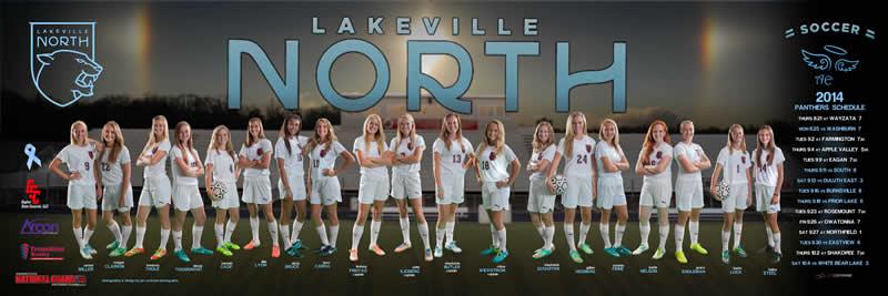 Lakeville North Girls Soccer 2014