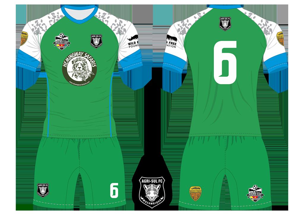 Agri-Sul FC Leopards Soccer Team Kit RCCL 2019