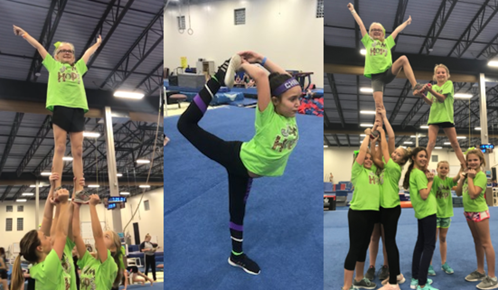 Cheer lifts and formation images
