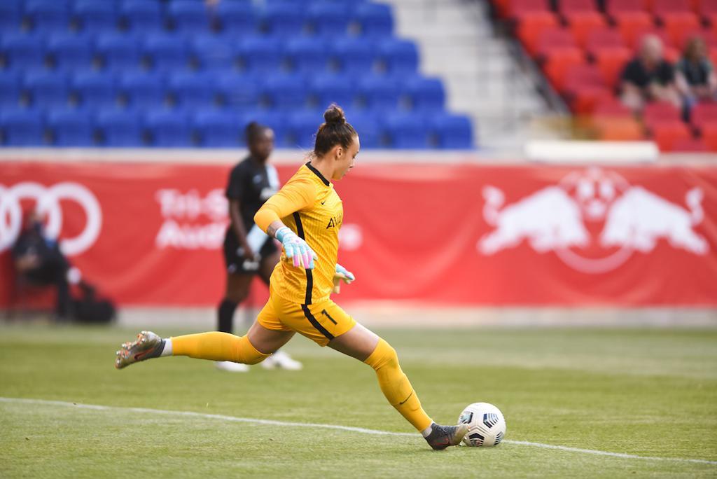 Kailen Sheridan #1 Gotham FC Goalkeeper