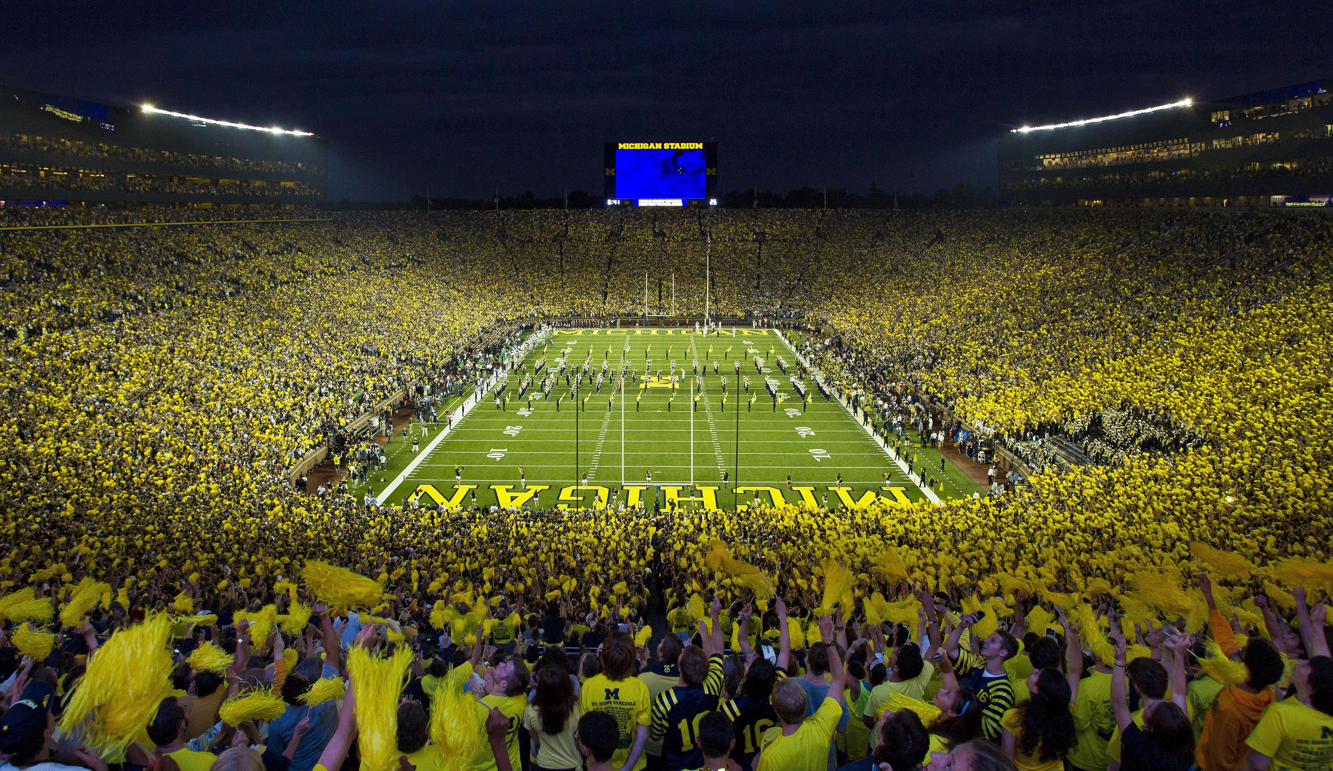 Michigan Stadium guide by Tablebox