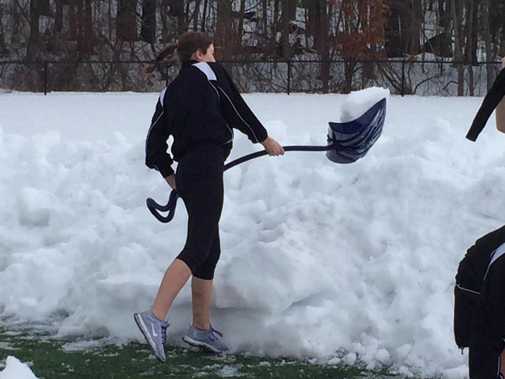 snow can't stop MSlax from offereing clinics