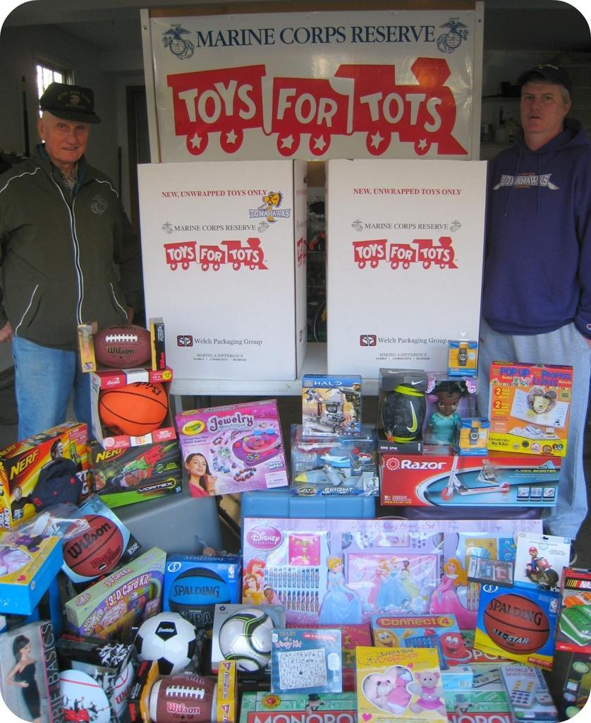Toys For Tots Collection : Toys for tots toy drive a success