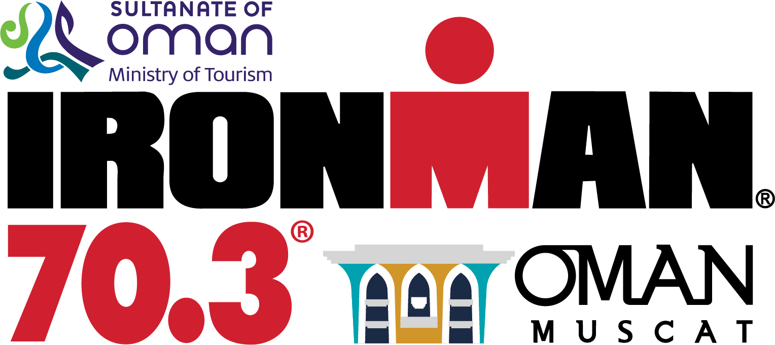 Official IRONMAN 70.3 Oman race logo