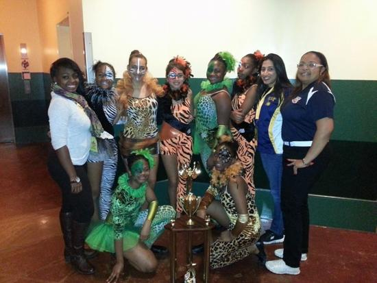 Coach Sutton's Midget Dance Team - 2014 National Champs