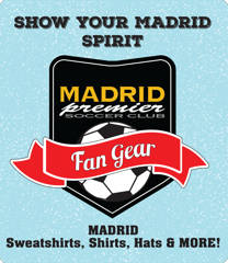 Madrid Premier Soccer Club Fan Gear