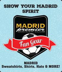 Madrid Premier Soccer Club Fan Gear