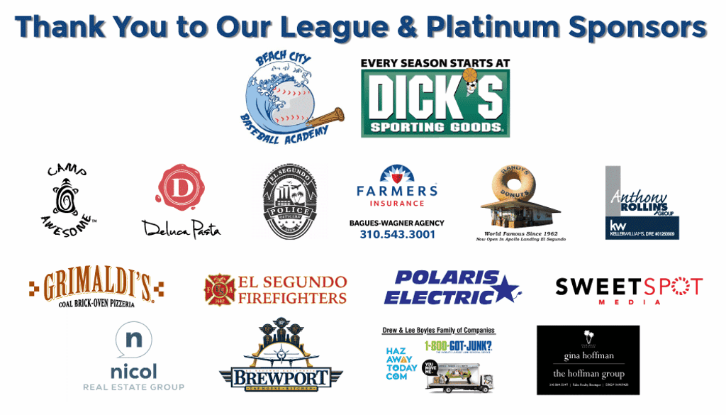 Thanks to our Platinum Sponsors!