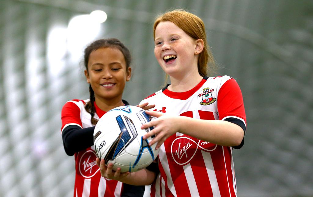 Girls are a Huge part of our soccer school  as we look to grow the girls game