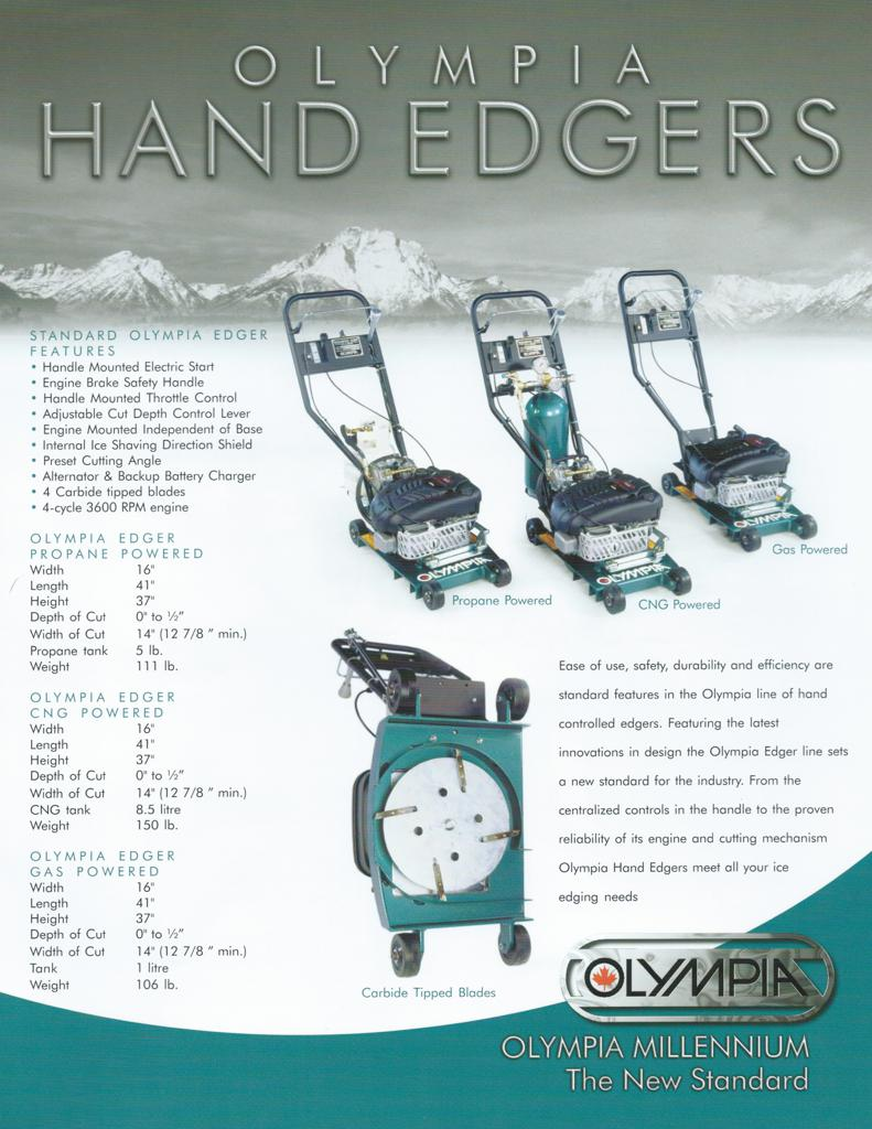 Click here to view specifications for Olympia Gasoline Edger