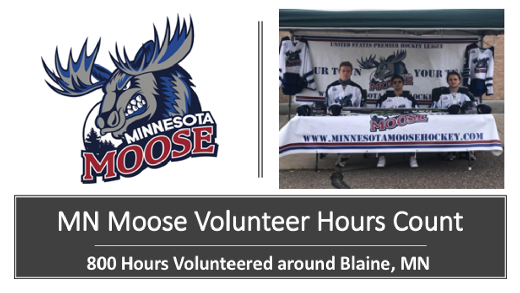 Email mnmoosecoach@gmail.com for the Moose to Volunteer!