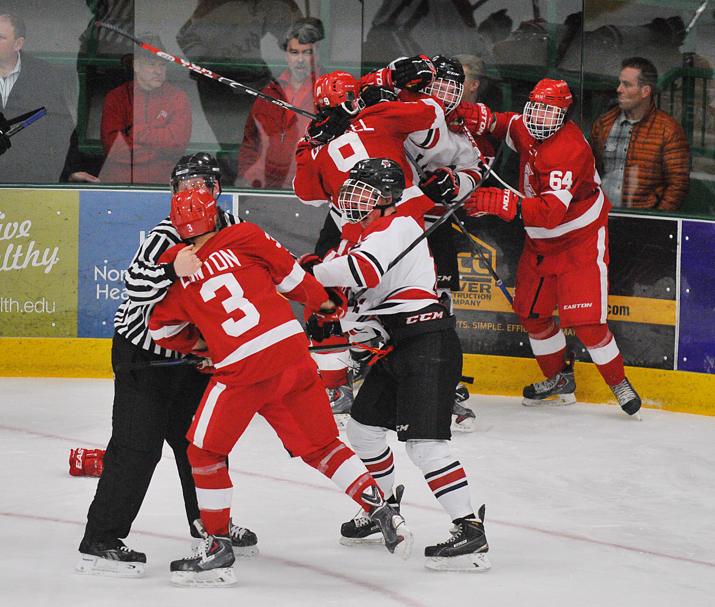 MN H.S.: Class 2A, Section 6 Semifinals - Game-ending Brawl At End Of 1-0 Win Costly For Eden Prairie