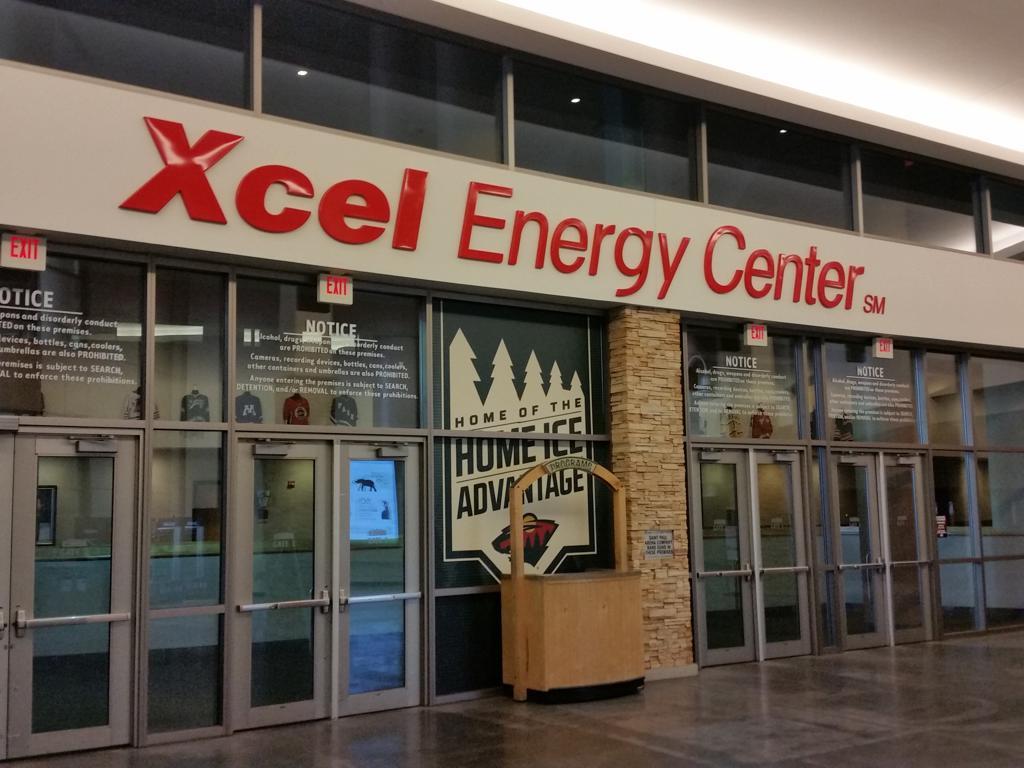 Xcel Energy Center Address