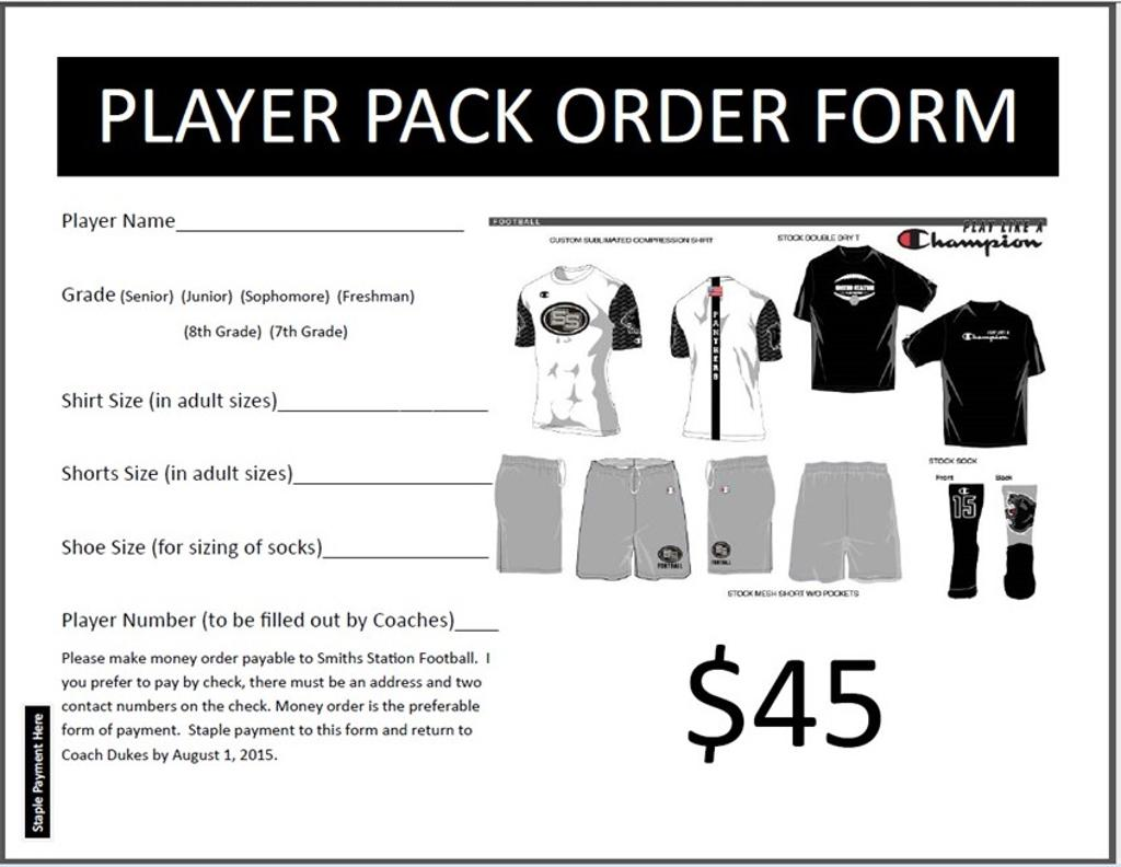 Printable Player Pack ...