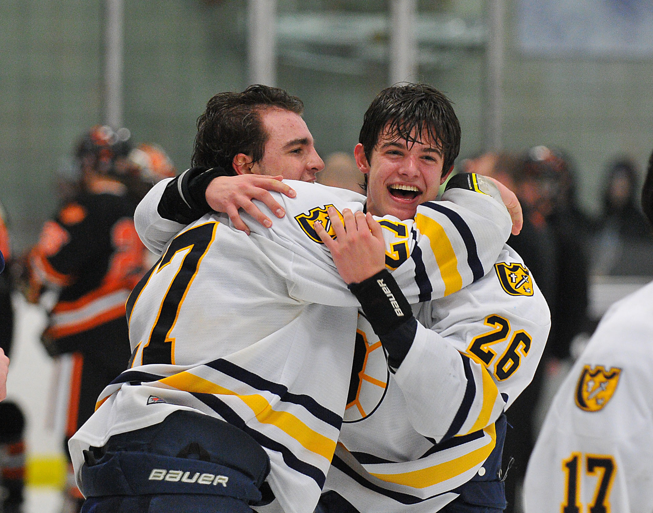MN H.S.: Class 1A, Section 2 - Breck Defeats Delano 3-2 In Second Overtime