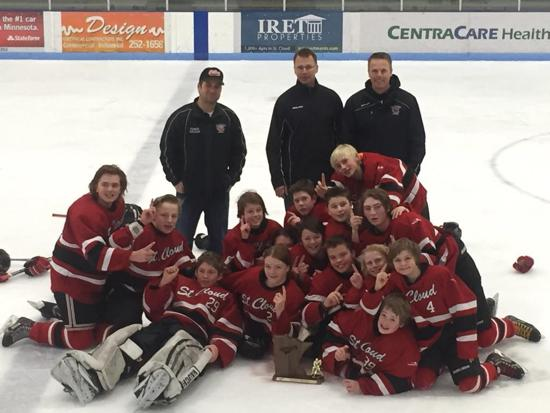 Congratulations PeeWee AA - Good Luck at State!